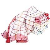 10x toallas de mano trapo seco toalla de cocina halbleinen Multicolor 50x 70cm
