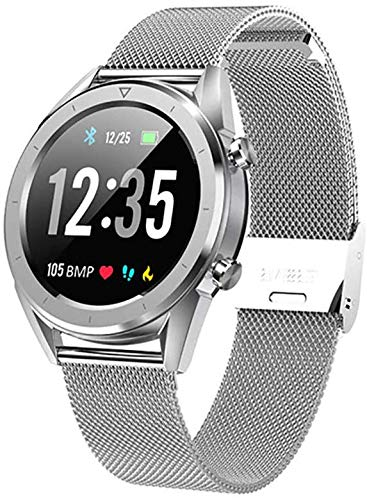 Zach-8 Smart Watch Für Android Phones, Smart Watch Mit Herzfrequenzmesser IP67 Wasserdicht Sport Fitness Tracker Uhren Für Andriod & Ios,D