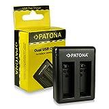 PATONA Cargador de batería doble AHBBP-401 para Batería GoPro Hero 4 | GoPro Hero 4 Black Edition...