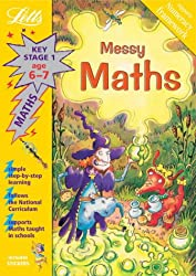 Messy Maths Age 6-7 (Letts Magical Topics)