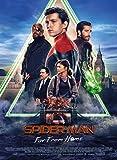 Affiche Cinéma Originale Grand Format - Spider-Man : Far from Home (Format 120 x 160 cm pliée) Année 2019