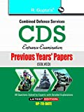 CDS (Combined Defence Services) Examination Previous Years Papers (Solved)