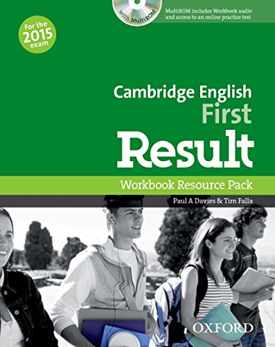 Cambridge English: First Result: First result. Workbook. Without key. Per le Scuole superiori. Con CD-ROM. Con espansione online