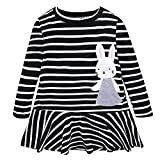 Baby Girl Bunny Rabbit Princess Dress Cute Stripe Review and Comparison