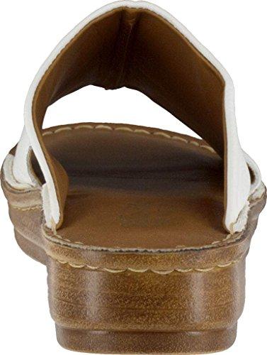 Bella Vita Mae-Italy Schmal Leder Sandale White