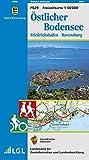Östlicher Bodensee: Friedrichshafen Ravensburg -  Karte des Schwäbischen Albvereins (Freizeitkarten 1:50000, Band 529)