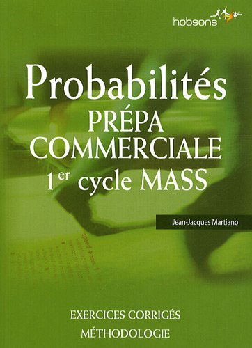 Probabilités Prépa commerciale 1er cycle MASS