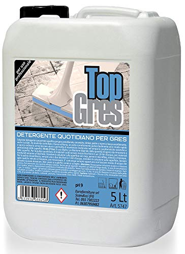 PROLINEA Top GRES - Detergente Quotidiano per gres (5LT)