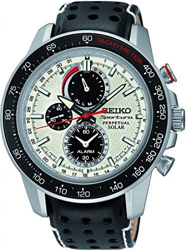 Seiko Herren-Armbanduhr Prospex Chronograph Quarz Edelstahl SSC359P1