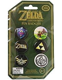 Officiel Nintendo ensemble de 6 Collectors Edition The Legend of Zelda Pin Badges nouveau