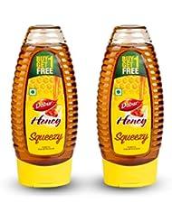 Dabur Honey - World's No.1 Honey Brand - Squeezy pack - 400 gm ( Buy 1 Get 1 Free)