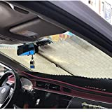 Wenwenzui-DE Hängende Auto-Jalousien Automatischer einziehbarer Sonnenschutz faltete Fenstervorhänge