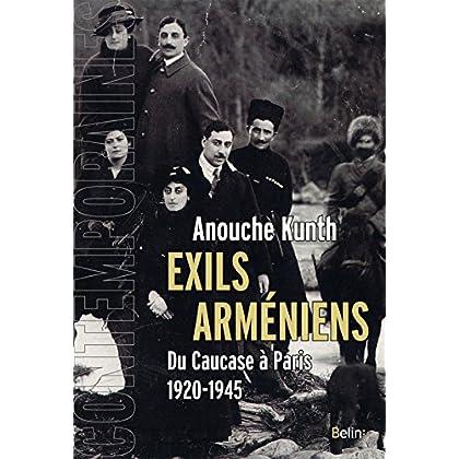 Exils arméniens. Du Caucase à Paris (Contemporaines)