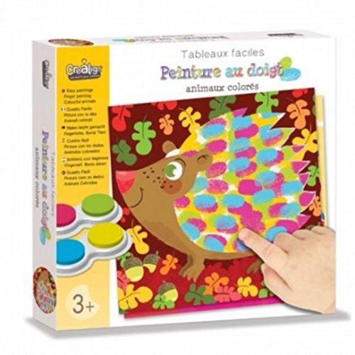 crealign-tableau-facile-peinture-au-doigt-animaux-colores