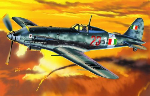 Italeri - I1227 - Maquette - Aviation - Macchi MC 205 Veltro - Echelle 1:72