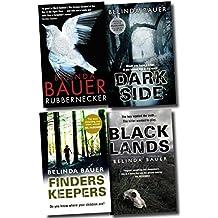 Belinda Bauer Collection 4 Books Set Rubbernecker, Blacklands, Darkside, Finders Keepers
