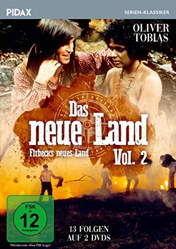 Das neue Land, Vol. 2 (Firbecks neues Land) / Weitere 13 Folgen der legendären Abenteuerserie (Pidax Serien-Klassiker) [2 DVDs]