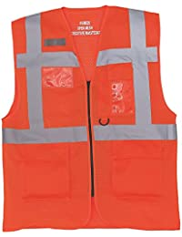 Yoko Mens Cool Mesh Hi-VIS Safety Vest