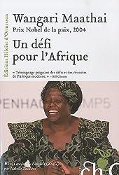 Un défi pour l'Afrique