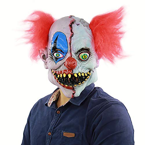 Halloween Bloody Gesicht Ghost Face Puppe Maske Latex Horror Maske Kopfbedeckungen
