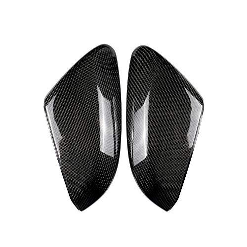 Spiegelkappen Karbon Faser Verkleidung für Rückspiegel Links Rechts (2er Pack) Außenspiegelersatz für Civic 10. Generation 2016-2018 226 Verkleidung