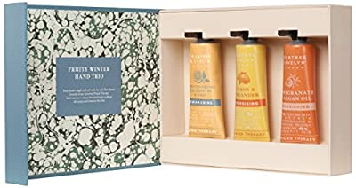 Crabtree & Evelyn Fruity Winter Hand Therapy Trio, 25 ml, Pack of 3