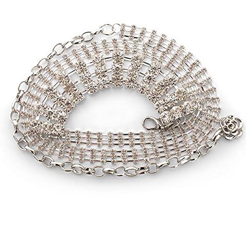 Cinturón de Lady Joker/Cadena de moda de la cintura/Cadena de diamantes de imitación faldas