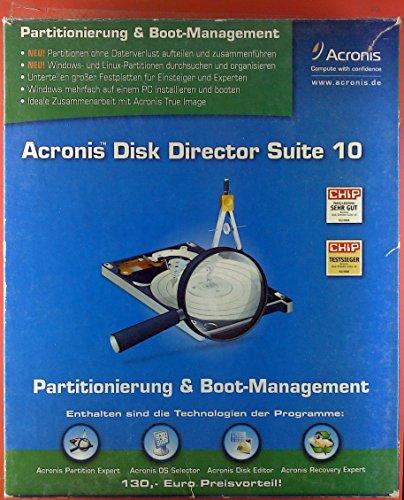 Acronis. Disk Director Suite 10. Benutzerhandbuch und CD. Partitionierung & Boot-Management.