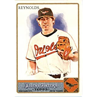 2011 Topps Allen & Ginter GLOSSY Edition Baseball Card (#'d out of 999) #321 Mark Reynolds SP Baltimore Orioles In a
