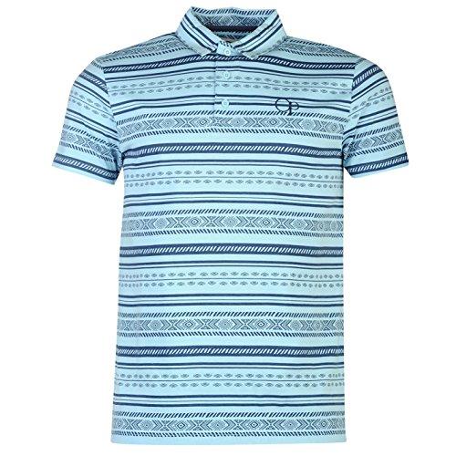 ocean-pacific-hombre-aztec-estampa-polo-camisa-mangas-cortas-collar-casual-top-multicolor-medium