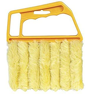 Aikesi 1pcs Brush Blind Triple Venetian Blind Cleaner Tool Mini Clean Dust Cleaner Washable Easy