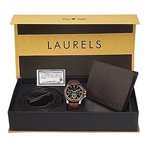 Laurels Analog Black Dial Men's Watch-CP-CP-101-URB-09-VT-0209