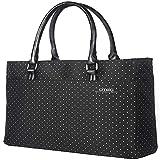 D8209W sacchetto del computer portatile impermeabile spot laptop bag borsa del computer portatile sacchetto tablet nero stampato puntino bianco 15 pollici