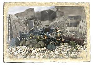 Unimax 432383009  - EE.UU. 1 División de Infantería, Normandía 1944, 01:32