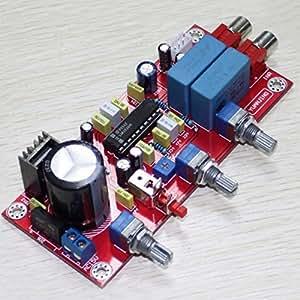 LM1036 HiFi Tweeter Bass Volume Adjust DIY Assembled Amplifier Tone Board / Preamp Board