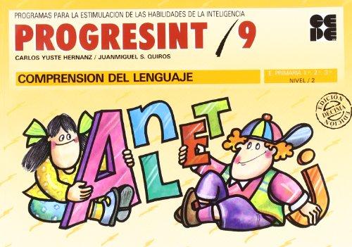 Progresint. 9. Comprension del lenguaje por Carlos Yuste