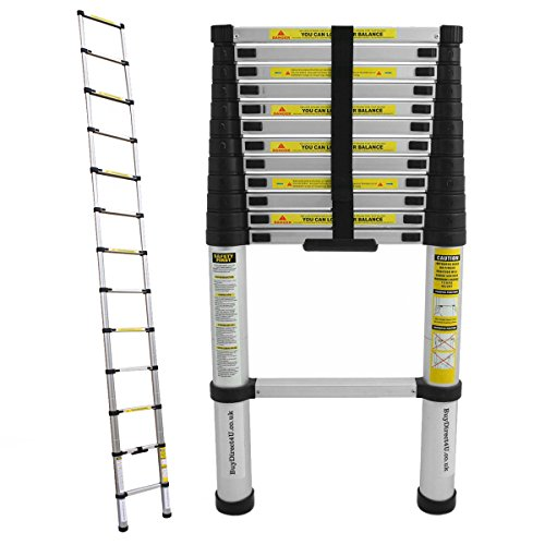 charles-bentley-diy-38m-telescopic-extendable-ladder-silver