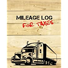Mileage Log For Taxes: Vehicle Mileage & Gas Expense Tracker Log Book For Small Businesses (V2)