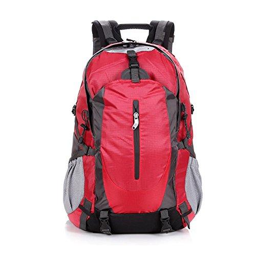 Wandern Rucksack 50L Outdoor Bergsteigen Wasserdichte Reiten Paket Klettern Ski Sporttasche , B