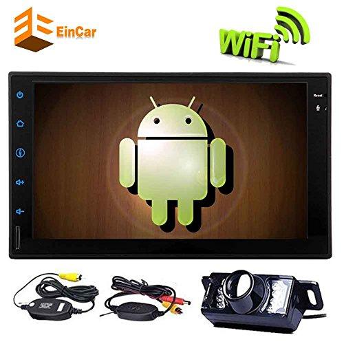 EinCar 7 '' Estéreo Doble Din coche con Android 6.0 cuádruple núcleo...