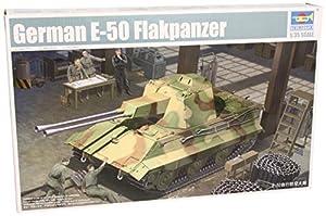 Trumpeter 01537 E-50 Flakpanzer - Tanque alemán a Escala