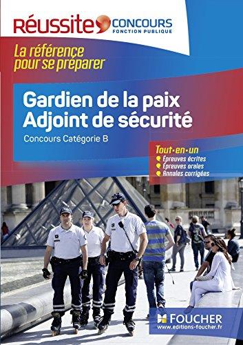 Réussite Concours - Gardien de la paix Adjoint de sécurité - Nº 20