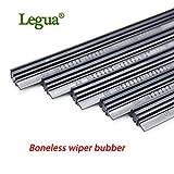 "RAISSER® Legua 1 pcs Boneless Rubber Car Wiper Blade Refill Strips Windscreen 14"" 16"" 17"" 18"" 19"" 20"" 21"" 22"" 24"" 26"" 28"" 30"" 32"""