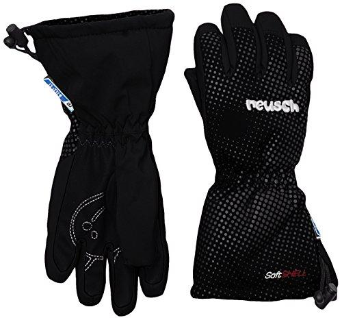 Reusch Baby Maxi R-Tex XT Handschuhe, Black, IV (Wasser-ski-schlitten)