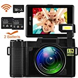 Digital WiFi Camcorder, Weton Digital Video Camera Recorder with 16GB SD Card, 24.0MP