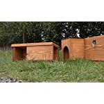 riverside woodcraft hedeghog cat resistant tunnel with anti bacteria coating Riverside Woodcraft Hedeghog Cat Resistant Tunnel With Anti Bacteria Coating 51PYQqxYDgL
