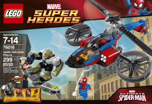 Lego Blocks & Building Sets Lego Spider Helicopter Rescue