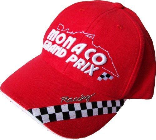 Cap Cap GP Grand Prix von Monaco Formel 1F1Auto Moto–Größe verstellbar Teenager/Erwachsene–Modell N ° 5
