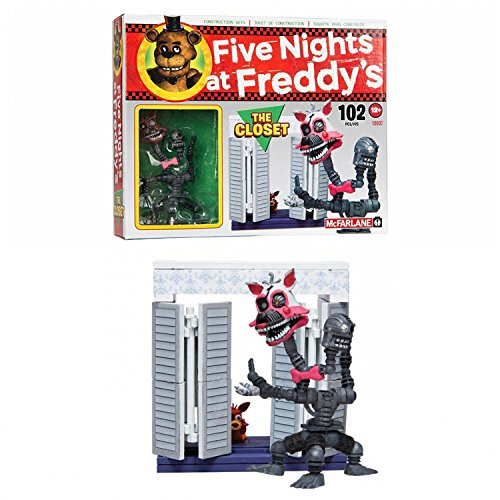 Image of McFarlane Toys Five Nights At Freddy's The Closet Construction Set