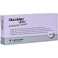Preisvergleich für GLUCOMEN areo 2K ß-Ketone Sensor Teststreifen 10 St Teststreifen